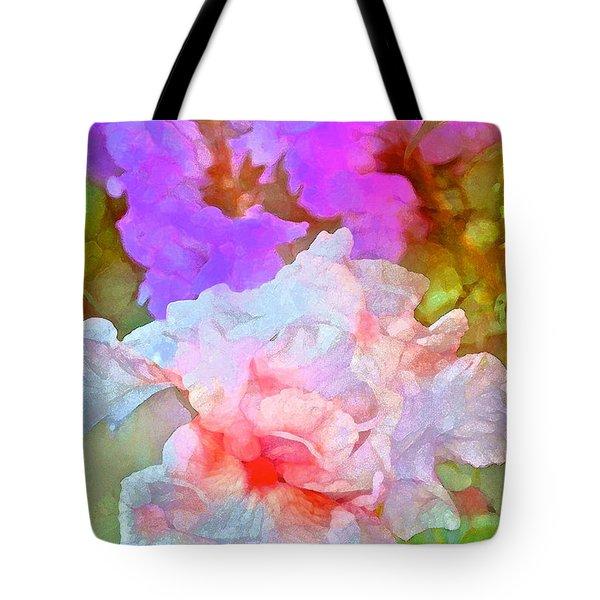 Iris 60 Tote Bag by Pamela Cooper