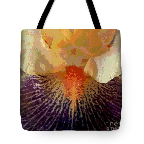 Iris Beard Tote Bag by Sally Simon