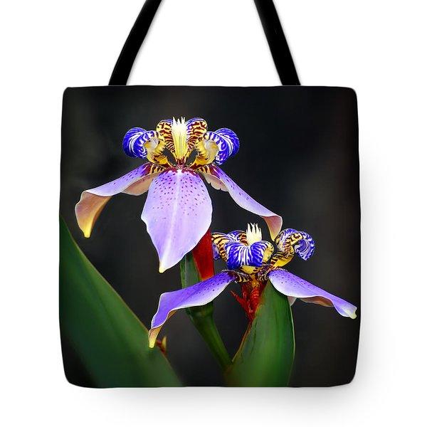 Iris Duet Tote Bag