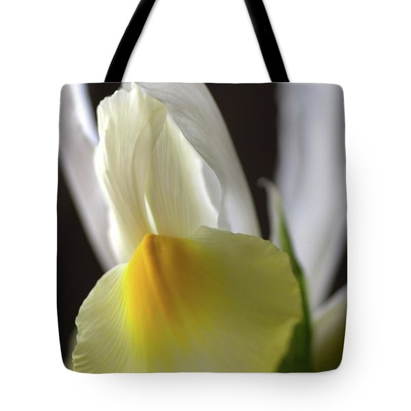 Tote Bag featuring the photograph Iris Flower by Joy Watson