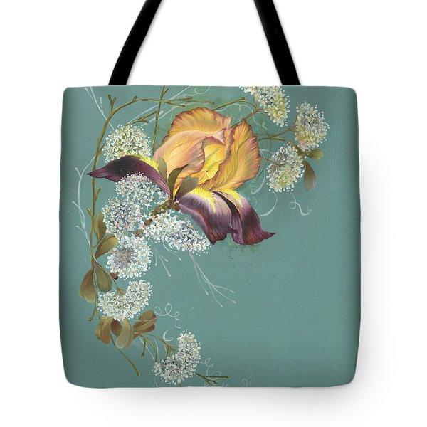 Iris Garland Tote Bag