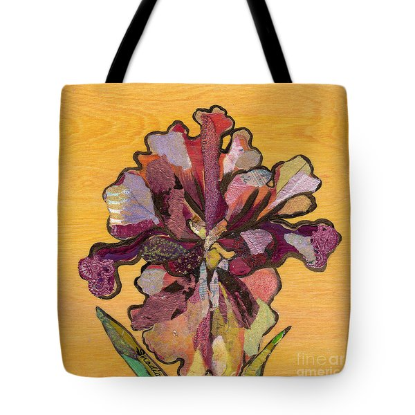 Iris I Series II Tote Bag by Shadia Derbyshire