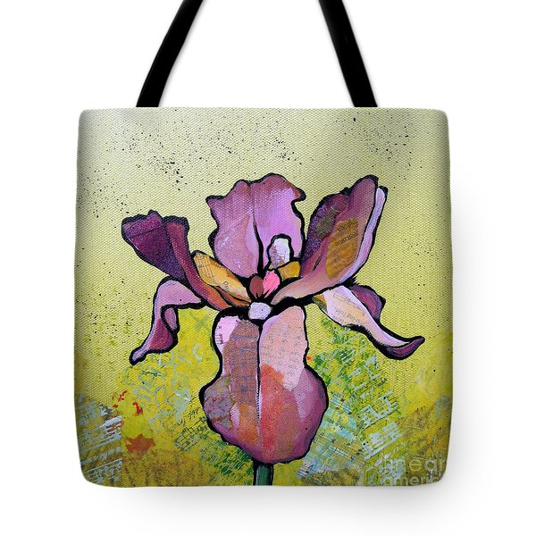 Iris II Tote Bag by Shadia Derbyshire