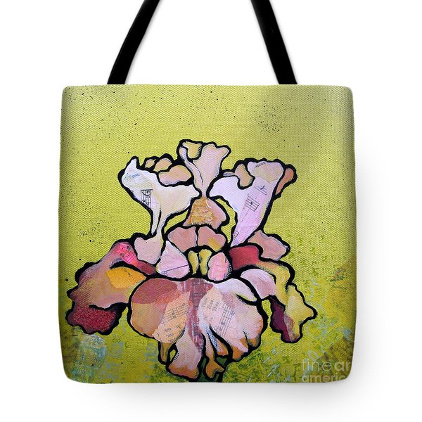 Iris Iv Tote Bag by Shadia Derbyshire