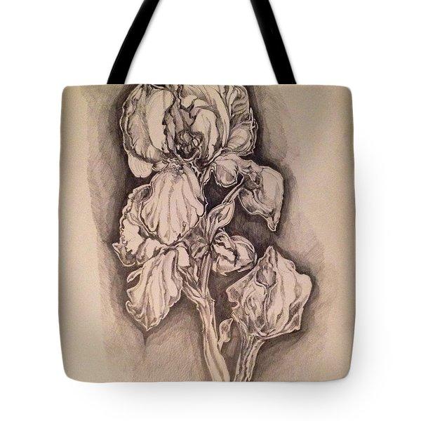 Iris Tote Bag by Iya Carson