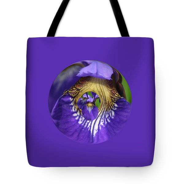 Iris Leaf Loop Tote Bag