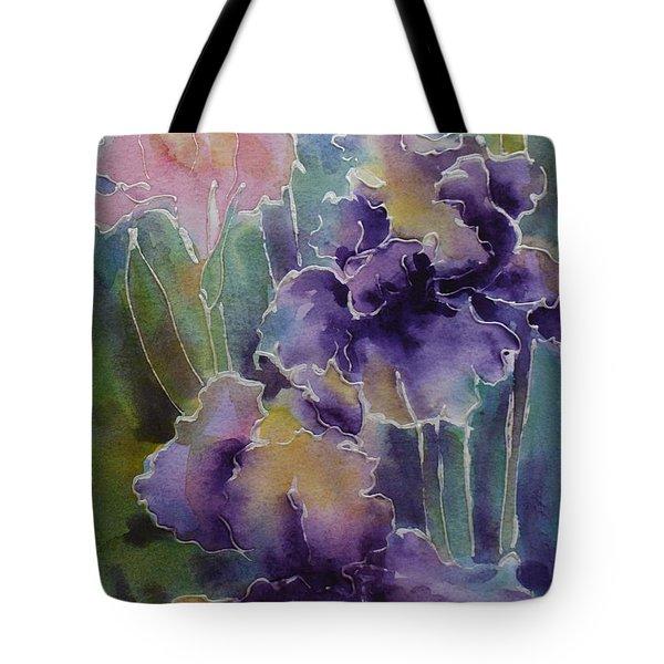 Iris Love Tote Bag