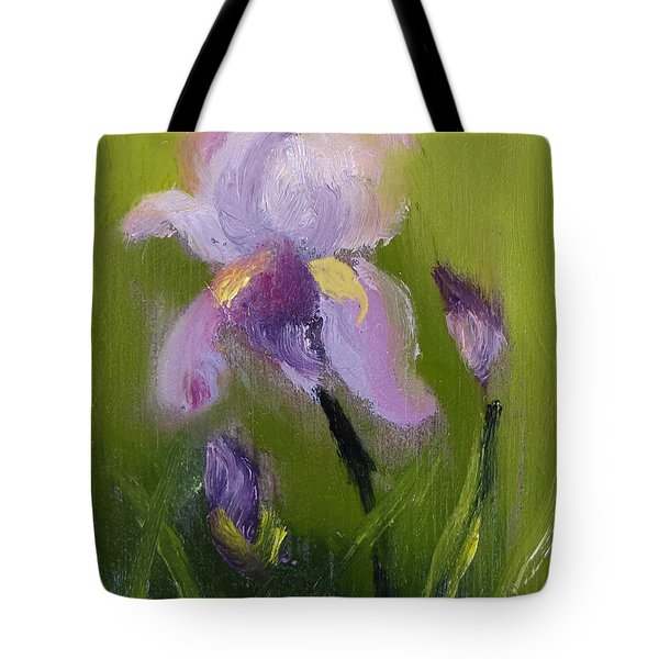 Iris Miniature Tote Bag