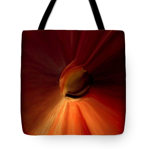 Iris Of Life Tote Bag by Reggie Duffie