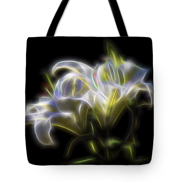 Iris Of The Eye Tote Bag
