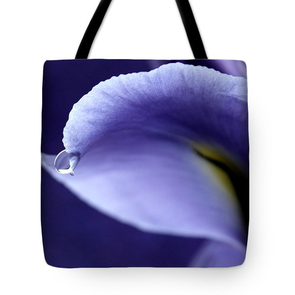 Iris Rain Tote Bag by Krissy Katsimbras