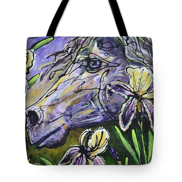 Iris Upon A Star Tote Bag