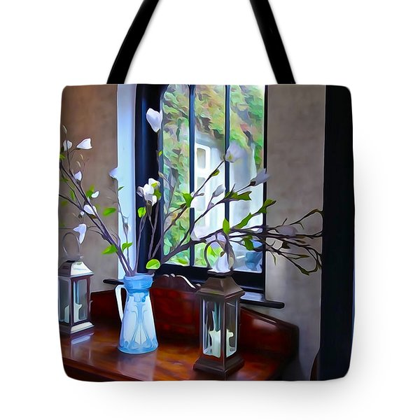 Tote Bag featuring the photograph Irish Elegance by Charlie and Norma Brock