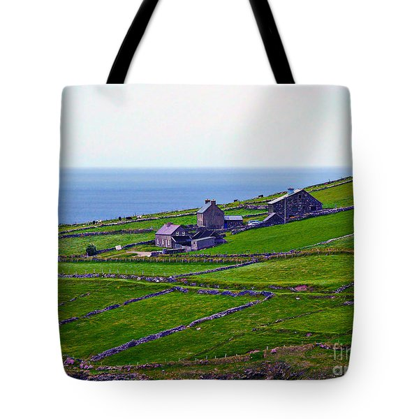 Irish Farm 1 Tote Bag by Patricia Griffin Brett
