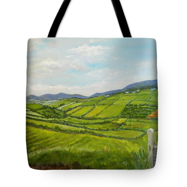 Irish Fields - Landscape Tote Bag