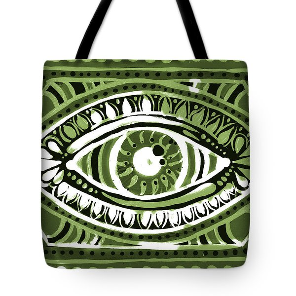 Tote Bag featuring the painting Irish Gypsi by Nada Meeks