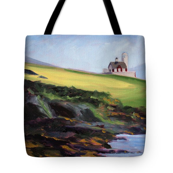 Irish Lighthouse Tote Bag