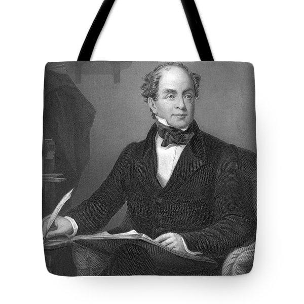 Irish Poet Thomas Moore Tote Bag