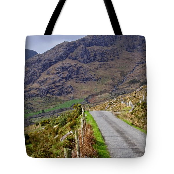 Irish Road Tote Bag by Suzanne Oesterling