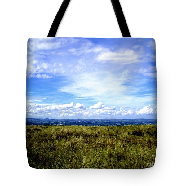 Tote Bag featuring the photograph Irish Sky by Nina Ficur Feenan