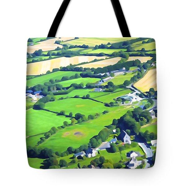 Irish Skyscape Tote Bag
