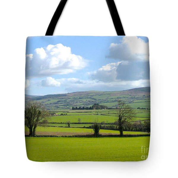 Irish Spring Tote Bag by Suzanne Oesterling