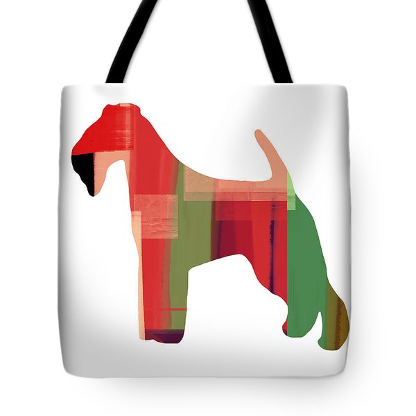 Irish Terrier Tote Bag by Naxart Studio