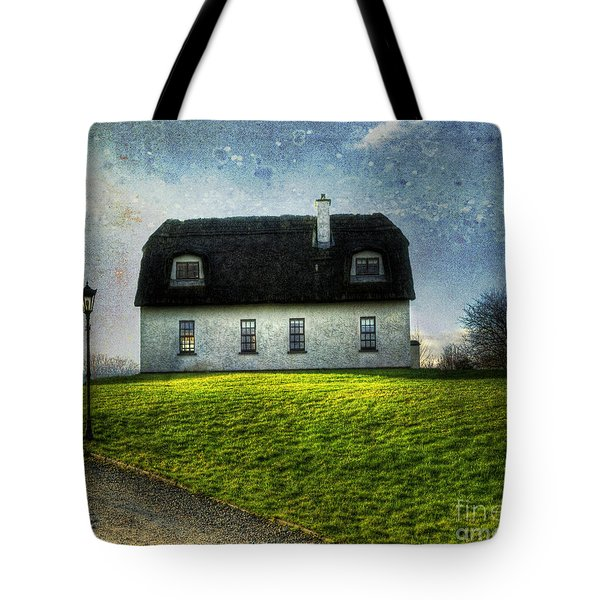 Irish Thatched Roofed Home Tote Bag