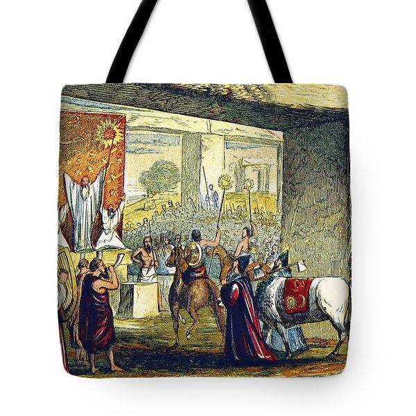 Iron Age, Druid Religious Festival Tote Bag
