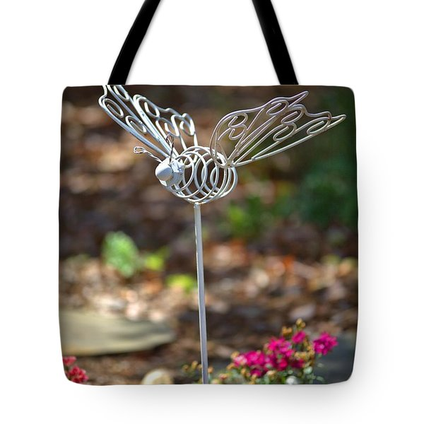 Iron Butterfly Tote Bag by Gordon Elwell