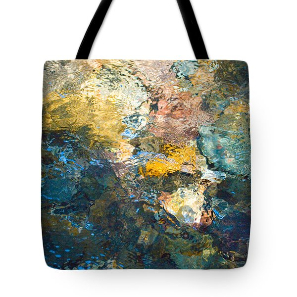 Iron Creek Bottoms Tote Bag by Rich Collins