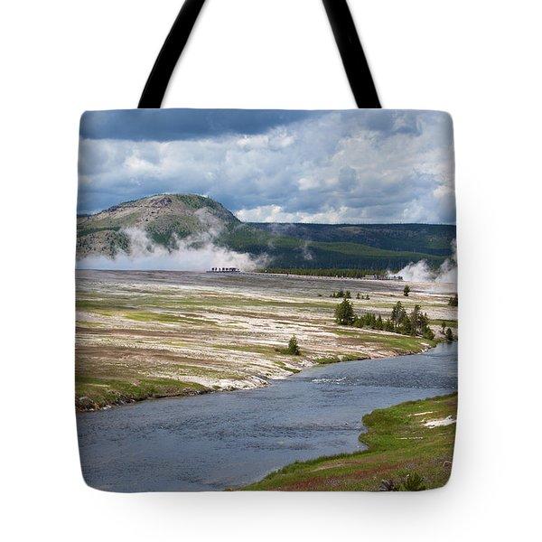 Iron Spring Creek Tote Bag