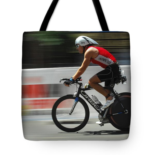 Ironman Flying Tote Bag by Bob Christopher