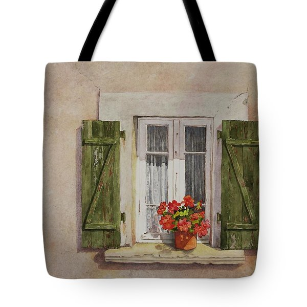 Irvillac Window Tote Bag by Mary Ellen Mueller Legault