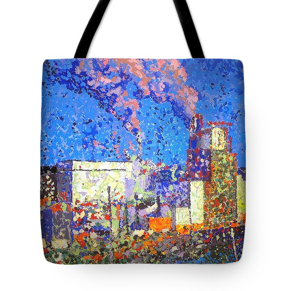 Irving Pulp Mill II Tote Bag