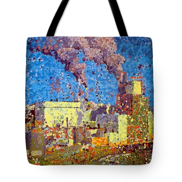 Irving Pulp Mill Tote Bag