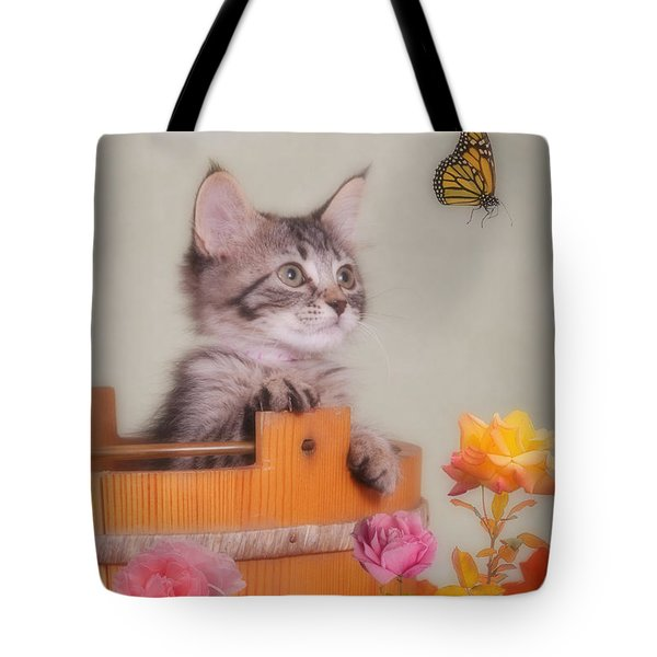 Is That Flower Flying? Tote Bag
