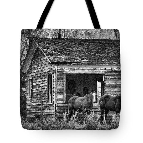 Is This Our Barn Tote Bag by Betty LaRue