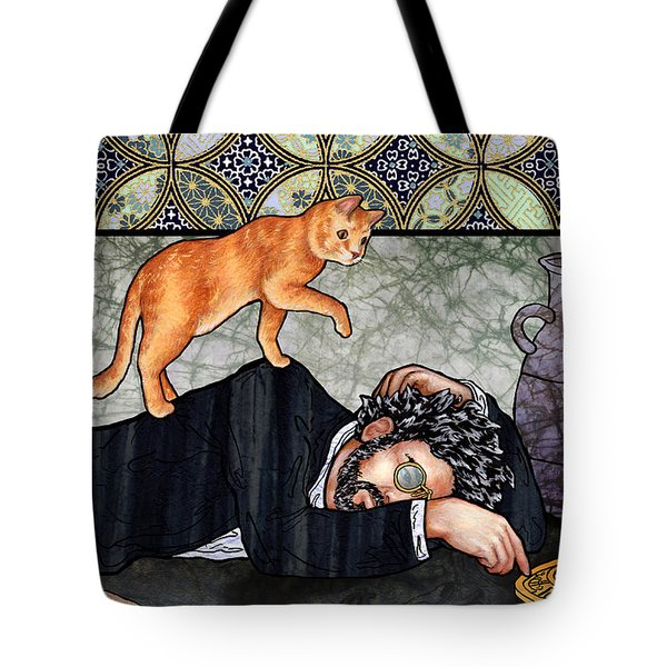 Isaac And Aryah Tote Bag