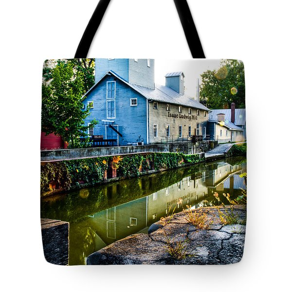 Isaac Ludwig Mill Tote Bag