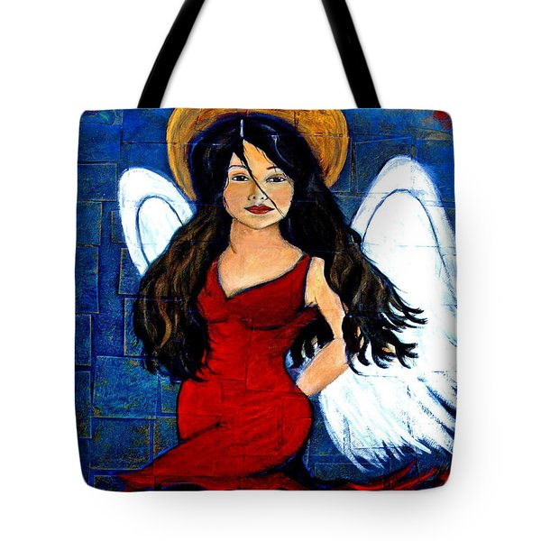 Isabella  A Spanish Earth Angel From Cultures Around The World Tote Bag by The Art With A Heart By Charlotte Phillips