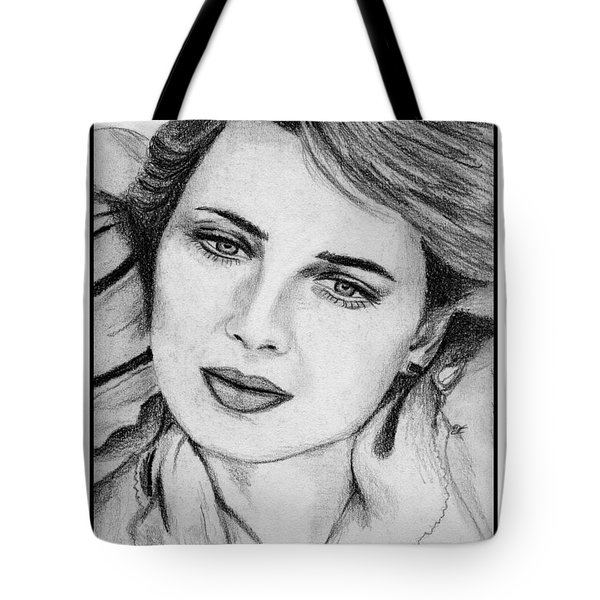 Isabella Rossellini In 1983 Tote Bag by J McCombie