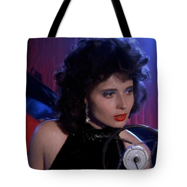 Isabella Rossellini In The Film Blue Velvet Tote Bag