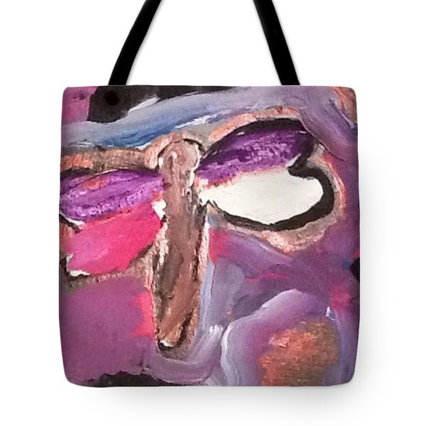 Tote Bag featuring the painting Isabel's Dragon by Megan Walsh