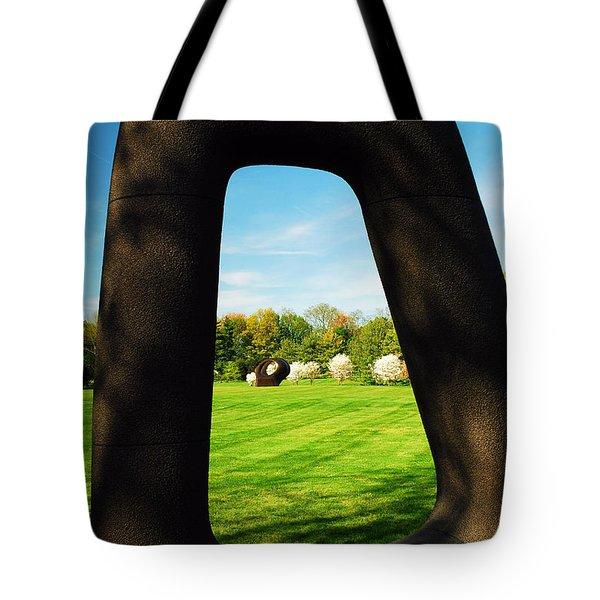 Energy Void Tote Bag by James Kirkikis