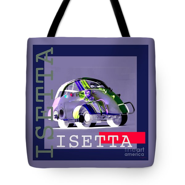 Isetta Tote Bag by Jean luc Comperat