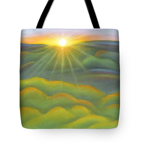 Isla Gorge Sunset Tote Bag