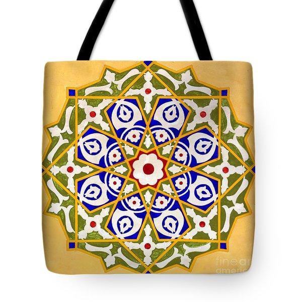 Islamic Art 09 Tote Bag