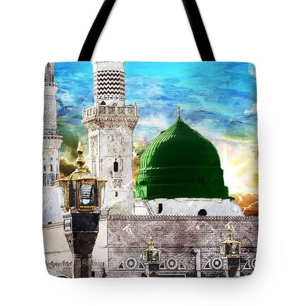 Islamic Painting 004 Tote Bag