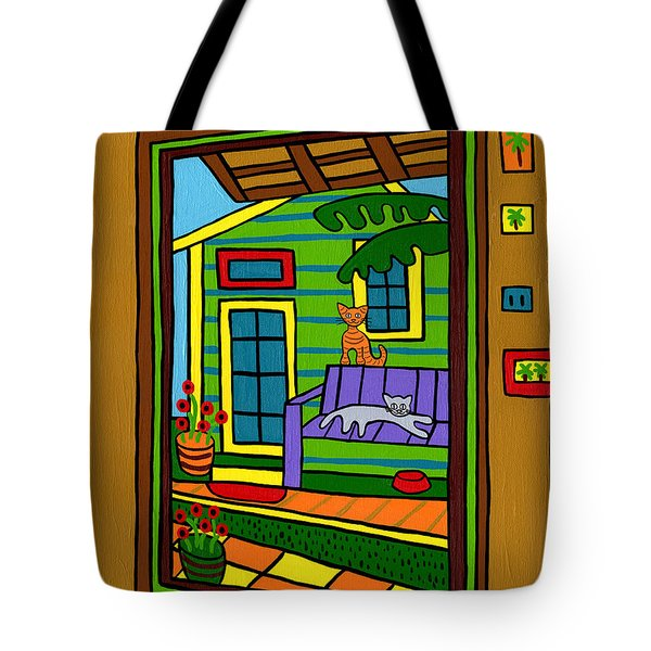 Island Arts Garden - Cedar Key Tote Bag